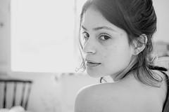 Good Morning 15 (Cadu Dias) Tags: morning light brazil portrait people bw woman hot sexy luz girl monochrome branco brasil female lens prime book bed bedroom nikon df day natural retrato mulher grain pb preto bn sensual e brazilian cama dias ritratti manh cadu gro sensualidade feminilidade cadupdias nikondf