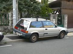 Honda Civic III (Adam's Gallery) Tags: honda iii zagreb civic