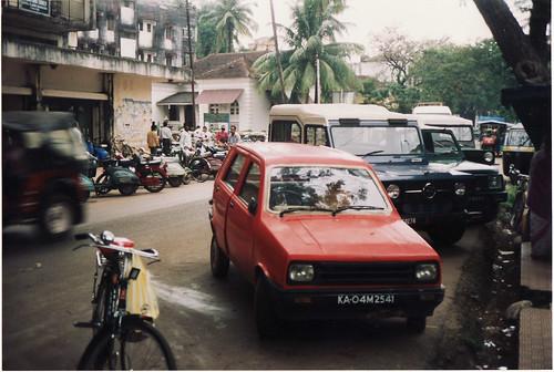 Sipani Montana (4-door Reliant Kitten derivative) & Tempo Trax (both built in India)