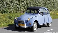 Citron 2CV 1986 (XBXG) Tags: auto old france holland classic netherlands car mobile vintage french automobile nederland citron voiture 2cv frankrijk 1986 paysbas eend geit ancienne 2015 vijfhuizen 2pk 2cv6 citron2cv franaise deuche deudeuche citromobile citro pfhg55