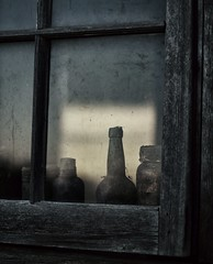 33/ windows & doors ~the sequel~ (s@ssyl@ssy) Tags: old dusty window barn bottles shed panes hww windowwednesdays