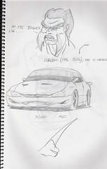 Boceto 9 (Sofía Ferrreira) Tags: car coche concept wolverine concepto lobezno