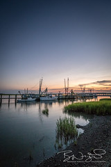_DSC2672 (Brendan Wright Photography) Tags: southcarolina beaufort portroyal sunset water shrimpboats