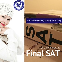 SAT winter program arranged by Y2Academy for upcoming board final SAT (y2_academy) Tags: sat students score student winter camp education prep psat