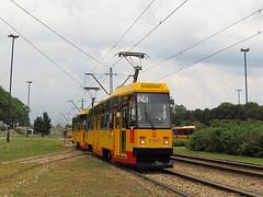 Konstal 105Na, #1304+1303, Tramwaje Warszawskie (transport131) Tags: tram tramwaj konstal tw ztm warszawa warsaw 105na