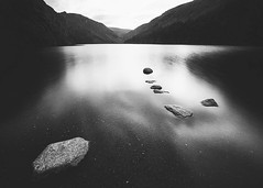 Glendalough (Rus) Tags: longexposure bw landscape glendalough wicklow manfrotto upperlake nd400 sigma1020 nikond5000 greystonescameraclub