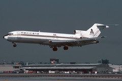 XA-MXD-1-KLAX-OCT1989 (Alpha Mike Aviation Photography) Tags: mexicana losangeles boeing lax 727 boeing727 klax xamxd