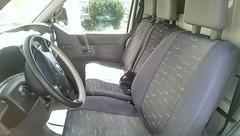 Fahrerkabine (ThomasLins) Tags: t4 vw bus transporter ausgebaut tisch bett mbel tischlerarbeit stauraum schiffsboden silikonierte arbeitsplatte
