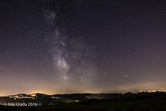 Mombaroccio, Beato Sante...e via lattea, Sagittario, Scorpione, Saturno, Marte... (Niki Giada) Tags: nikon d610 tokina 1116 pesaro nightscape starryscapes stars stelle notturno nocturn milk way via lattea