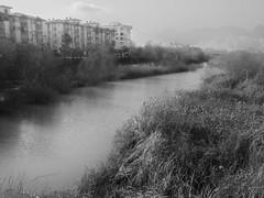Riverside neighborhood (ErdenizS) Tags: water pen apartments riverside olympus ep3