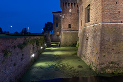 Castello di San Giorgio (Blueocean64) Tags: longexposure blue light summer italy reflection green castle water architecture night outside noche twilight eau italia quiet outdoor dusk explorer peaceful unesco panasonic g5 explore mantova serene  extrieur nuit castello chteau lombardia notte castillo italie calme worldheritage mantua      mantoue  captureone