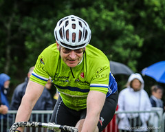Cyclist (FotoFling Scotland) Tags: scotland cyclist event balloch highlandgames lochlomondhighlandgames