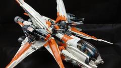 Close look of Merkabah gunship (Brick Martil) Tags: toy lego gunship ucs starfighter merkabah