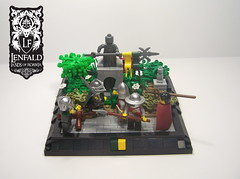 Lands of Roawia: July Freebuild #1: The Story of Sir Merek Henry (lego3364!) Tags: lego lor freebuild knight story