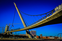 Harbor Drive Pedestrian Bridge - San Diego CA (mbell1975) Tags: sandiego california unitedstates us harbor drive pedestrian bridge san diego ca cal calif usa america american bro brcke puente pont ponte brug bouwwerk most brig kpr bur suspension