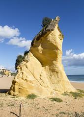 Beach Rock (Hans van der Boom) Tags: europe portugal algarve vacation holiday albufeira beach rock pt
