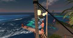 20160624 - PatrickUnicorn_19_001 (Patrick Unicorn) Tags: boy girl new shore ea beach springboard evening water white