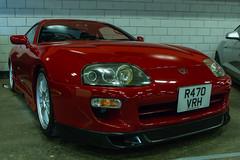 Supra (jonathan.scaife81) Tags: car red toyota supra 30 canon 6d japanese jap tamron 28300 tamron28300 edinburgh scottish show reflect shiny