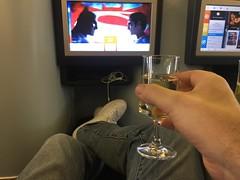 Repas Business KLM (Bertrand Duperrin) Tags: b777 b777200 businessclass klm