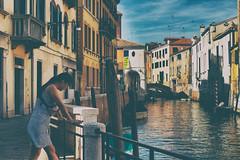 Ephemere 118 (lunecoree) Tags: venise italie canal canon eos 30d sigma 35mm art