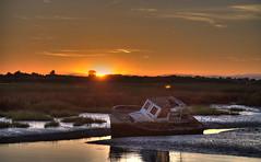 Tagliamento(7) (tullio dainese) Tags: tagliamento fiume river lignanoriviera tramonto sunset barca boat