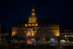 Rathaus (WrldVoyagr) Tags: night emden deutschland ostfriesland rathaus gx7 lumix cityhall germany panasonic niedersachsen de