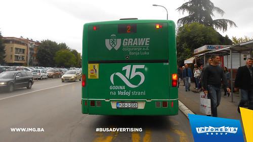 Info Media Group - Grawe osiguranje, BUS Outdoor Advertising, Banja Luka 09-2016 (3)