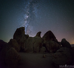 Spread Your Wings (ihikesandiego) Tags: eagle rock warner springs milky way pacific crest trail