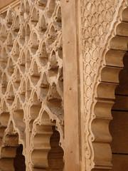 Patio de yeso. Reales Alczares. Almohade (vicentecamarasa) Tags: patio de yeso reales alczares almohade