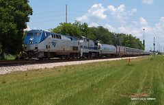 160531_02_AMTK158_98san (AgentADQ) Tags: amtrak passenger train silver meteor sanford florida railraod
