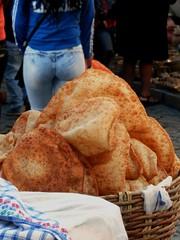 Sono i giorni del Salone del Gusto 1 (magellano) Tags: sucre bolivia recoleta mercado mercato market juxtaposition girl street candid food cibo strada
