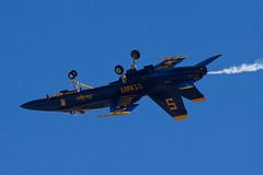 United States Navy McDonnell Douglas F/A-18C Hornet 163451 (jbp274) Tags: nkx knkx mcasmiramar miramar airport airplanes airshow display unitedstatesnavy usn blueangels mcdonnelldouglas f18 fa18 hornet military