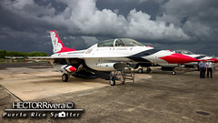 #7 Maj. Kevin Walsh Operations Officer (Hector A Rivera Valentin) Tags: usaf thunderbirds lockheedmartin f16 block 52 sju tjsj puerto rico san juan 3oct2016 falcon viper air force usairforce