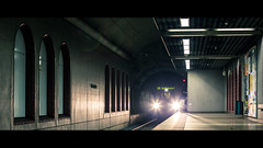 Fernlichtfahrer | Kirchplatz, Frankfurt am Main (TrainPhotography.de) Tags: light station train germany underground subway deutschland frankfurt linie main rail zug bahnhof tunnel line ubahn bahn ostbahnhof stadtbahn kirchplatz u6