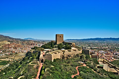 Castillo de Lorca (J.A.G. Gallego) Tags: torre lorca castillo a99 darktable tamron2470usd