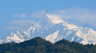 Mt. Kanchenjunga, a heavenly spectacle!