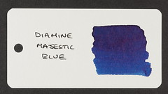 Diamine Majestic Blue - Word Card