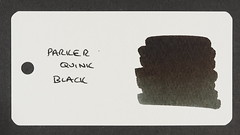 Parker Quink Black - Word Card