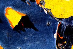 Door 100 (Glassholic) Tags: door abstract color colour rust peeling paint rusty peinture couleur rouille abstrait graphisme graphism écaille