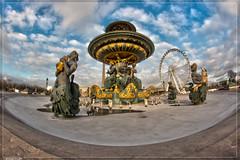 Fontaine des Mers (Place de la Concorde) (Brangre SEGURA) Tags: paris toureiffel champdemars arcdetriomphe militaire placedelaconcorde granderoue pontalexandreiii pontdelalma trocadro pontdina fontainedesmers oblisquedelouxor pierretraverse