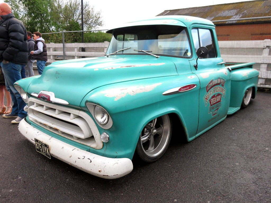 The Worlds Most Recently Posted Photos Of 1957 And Stepside Chevy Pickup Truck Img 7015 Andrewlane94 Tags Chevrolet Vintage American Hotrod Lowered V8
