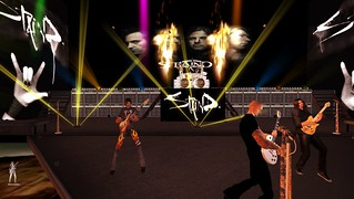 Staind Live @ House of V April 24 2015 for TRC in Second Life
