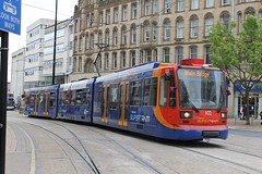 Stagecoach Supertram 102 (Tom Cousins Photography) Tags: sheffield siemens tram 102 lightrail tramway stagecoach supertram sheffieldsupertram duewag stagecoachsupertram