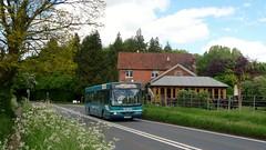 32 at Wotton (bobsmithgl100) Tags: bus surrey wright cadet route32 daf wotton sb120 3928 guildfordroad szf gk51szf gk51 arrivakentsurrey