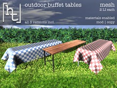 [ht:home] outdoor buffet tables (Corvus Szpiegel) Tags: life wood food usa home apple cake metal fruit cheese america menu pie pumpkin table this us key picnic outdoor north cheesecake sl blueberry secondlife hate pastry second raspberry lime cloth ht multicultural