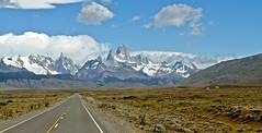 Ruta 40 Patagonia Argentina (Saverioas) Tags: road santa patagonia argentina roy ruta strada torre carretera fitzroy el route estrada cruz andes fitz chaltn rodovia cero