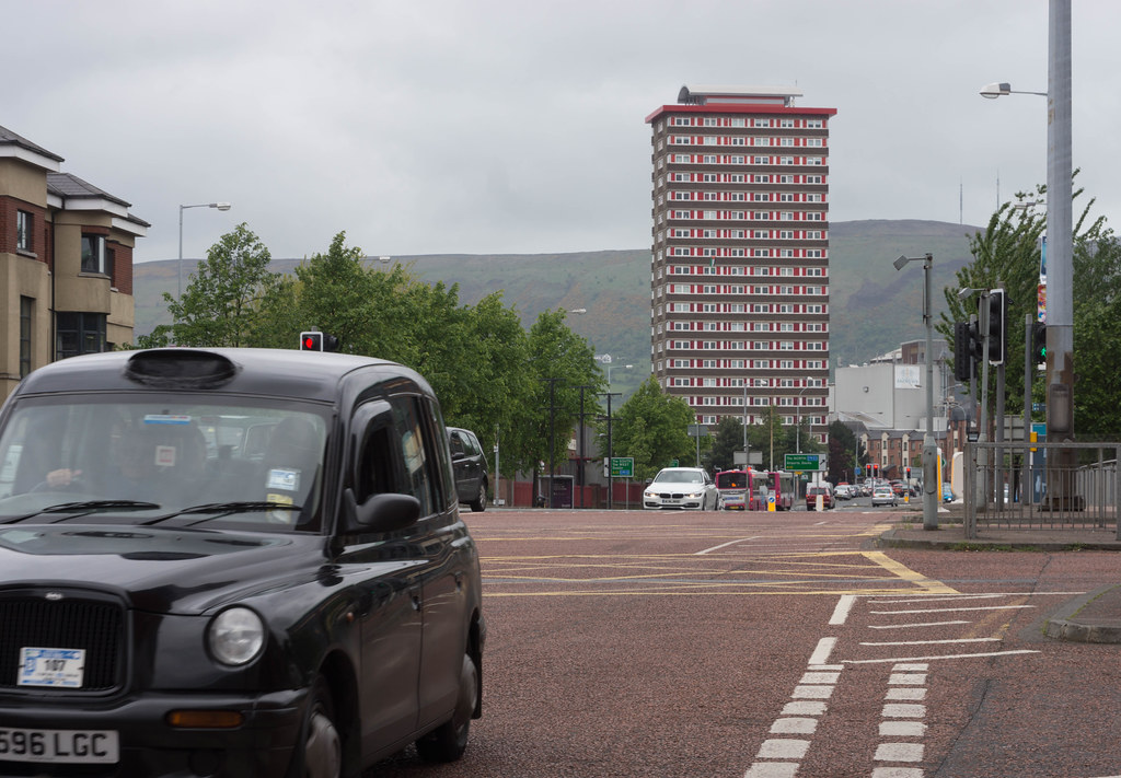 DIVIS TOWER IN BELFAST CITY [NORTHERN IRELAND] REF-104934