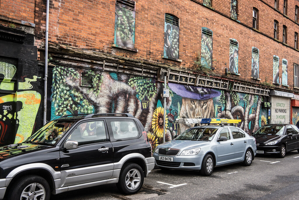Street Art In Belfast [May 2015] REF-104686
