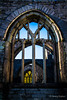Through the Arched Window (JKmedia) Tags: trees sky church window stone memorial war arch ruin plymouth bluesky devon damage manmade blitz derelict charleschurch charlescross 15challengeswinner canoneos7d boultonphotography