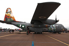 C-130E Hercules (Tony Howsham) Tags: pakistan canon eos force aircraft air sigma airshow lockheed hercules raf riat 2016 raffairford c130e 18250 400d farford